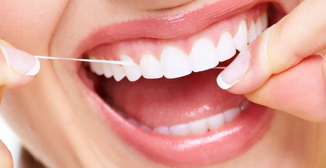 Brushing and Flossing to Fight Plaque